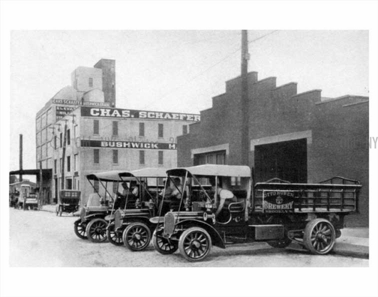 Chas Schaefer Corp and Otto Huber trucks
