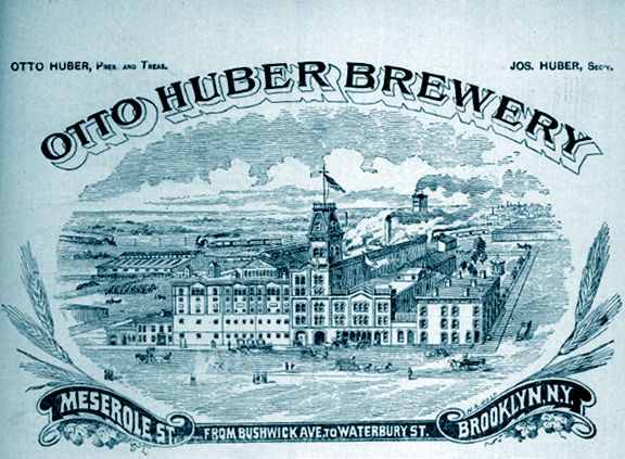 Otto Huber Brewery Ad