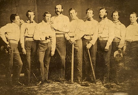 The Brooklyn Excelsiors in 1860