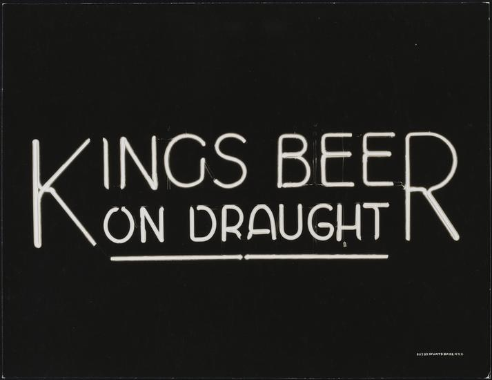 Kings Beer Neon Sign