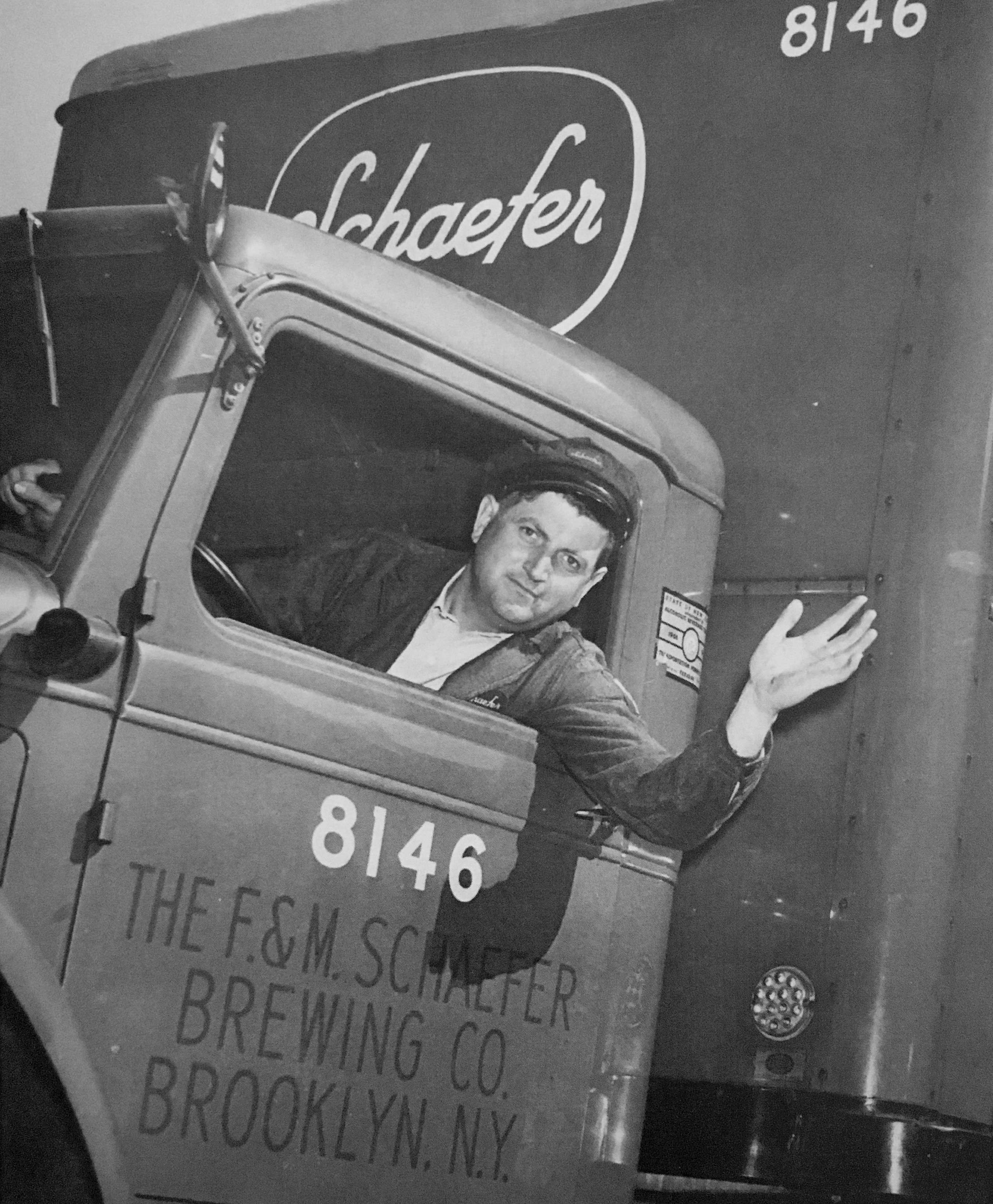 Schaefer driver, after the strike