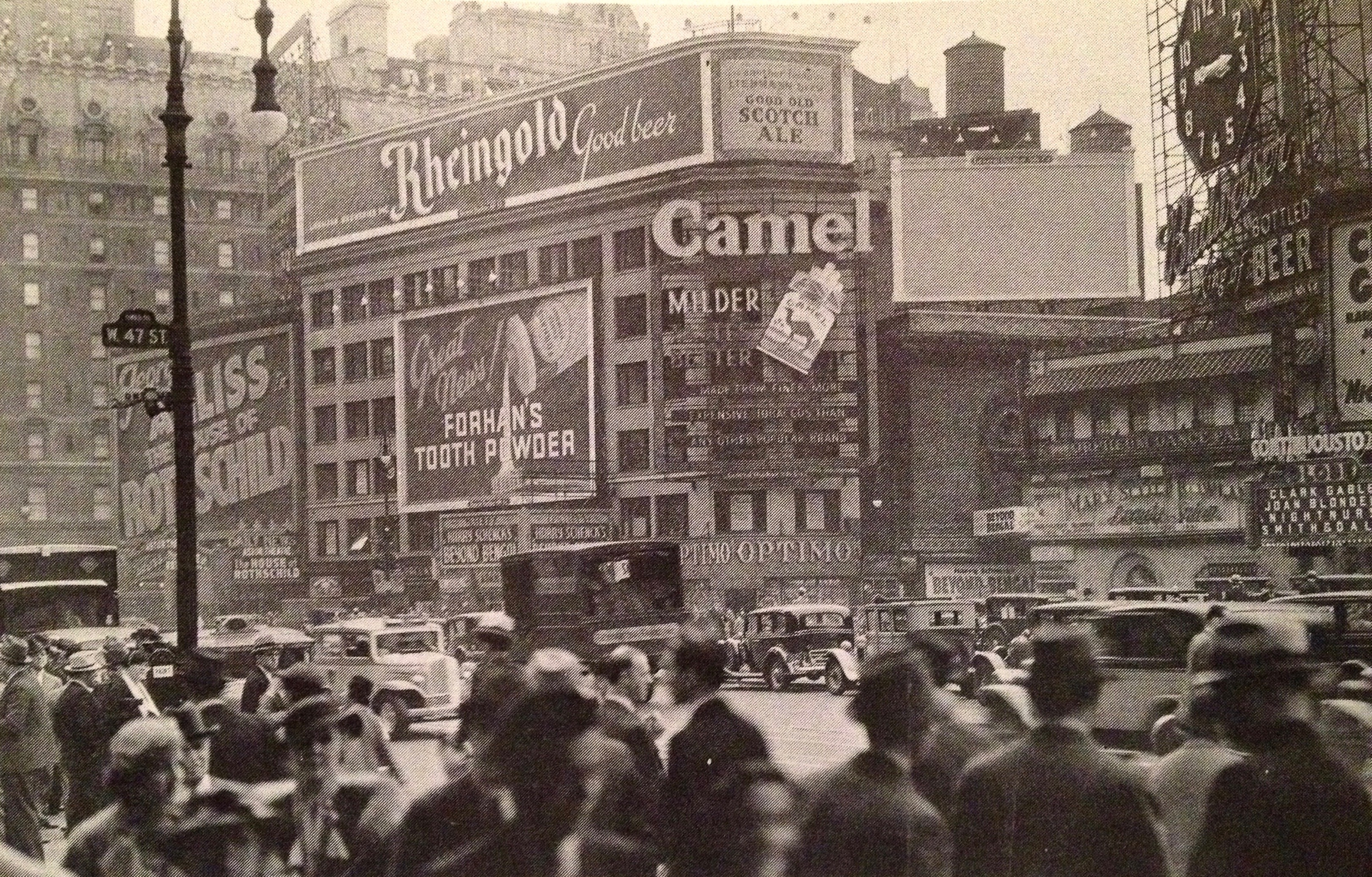 Times Square, 1934